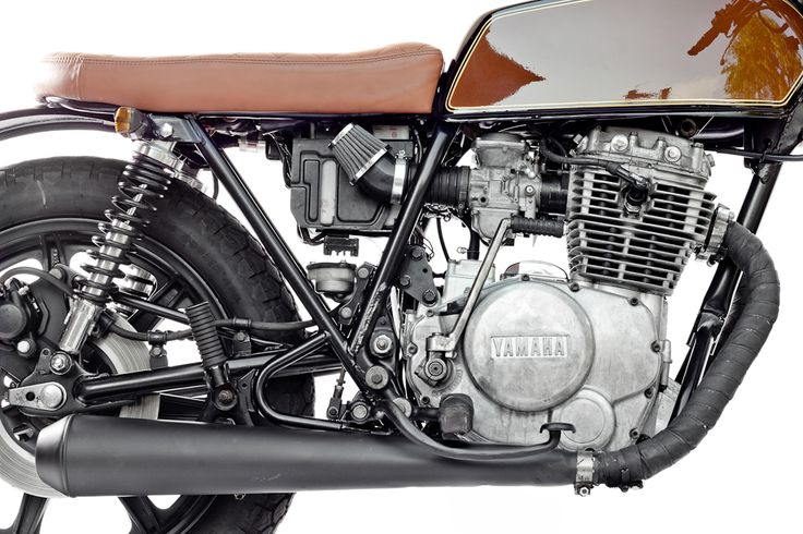 Yamaha XS400 1979 By Ventus Garage