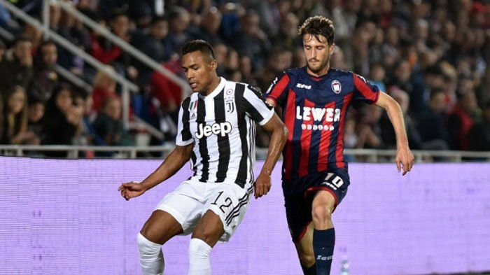 Crotone Vs Juventus, Sempat Unggul, Gol Salto ala Cristiano Ronaldo Gagalkan Kemenangan I Bianconeri