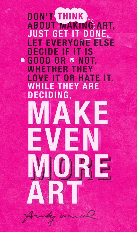 Warhol Wisdom.