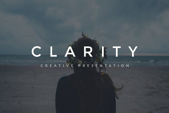 Clarity Keynote Template + GIFT by Entersge on @creativemarket