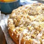 Pfirsich Cobbler Kaffee Kuchen | | Zitronenbaum-Wohnung