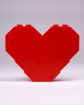 #lego heart - #CreativeBrick