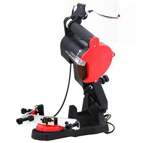 """Product review for TruePower 01-0854 Electric Chain Saw/Chainsaw Blade Sharpener. This Precision Electric Chainsaw Sharpener mounts to benches, wall, vise. Keeps you Chainsaw blade in good condition. Vise adjusts to fit all chain designs and pitches.       Famous Words of Inspiration...""""I believe that our Heavenly Father invented man because he was..."""