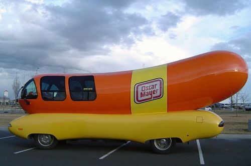 Oscar Mayer Weiner Wagon. He used to drive through our neighborhood. Remember what the horn sounded like?