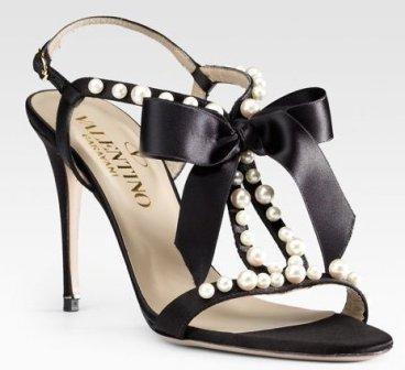 black w/ pearls