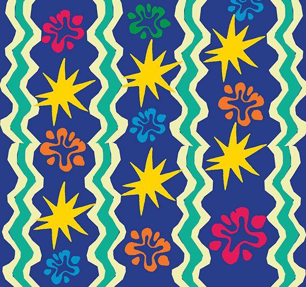 My Matisse by Aleksandrina Mihalkova, via Behance