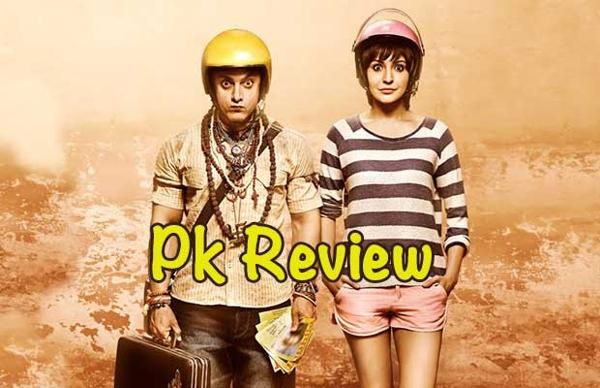 PK Review: Aamir Khan Makes A Faith Connection It's almost certain that anything Rajkumar Hirani does after Munnabhai and 3 Idiots will come with a suitcase full of expectations. So also any film headlining Aamir Khan, even if he is playing an awkward, wide-eyed, badly dressed character with otherworldly charms.