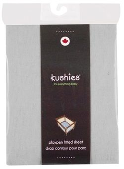 Kushies Portable Playpen Fitted Sheet Grey $11.49 - from Well.ca