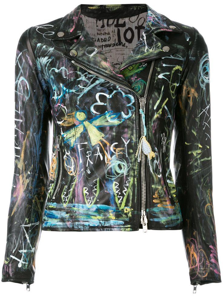 ¡Cómpralo ya!. S.W.O.R.D 6.6.44 - Mi Amo Jacket - Women - Leather/Polyester - 42. Black leather Mi Amo jacket from S.W.O.R.D 6.6.44. This item fits small, please select the next size up. Size: 42. Gender: Female. Material: Leather/Polyester. , chaquetadecuero, polipiel, biker, ante, antelina, chupa, decuero, leather, suede, suedette, fauxleather, chaquetadecuero, lederjacke, chaquetadecuero, vesteencuir, giaccaincuio, piel. Chaqueta de cuero  de mujer color negro de S.W.O.R.D 6.6.44.