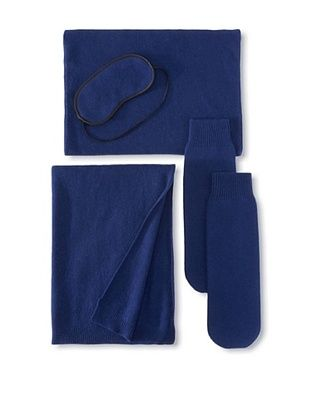 65% OFF Sofia Cashmere Travel Set, Navy