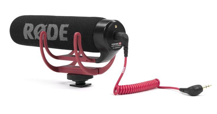 Amazon.com: Rode VMGO Video Mic GO Lightweight On-Camera Microphone Super-Cardio: Musical Instruments