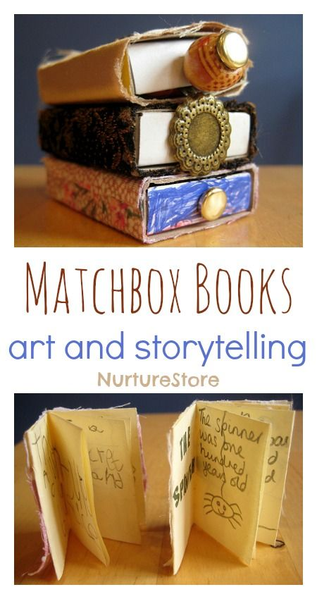Matchbox Books for art and storytelling