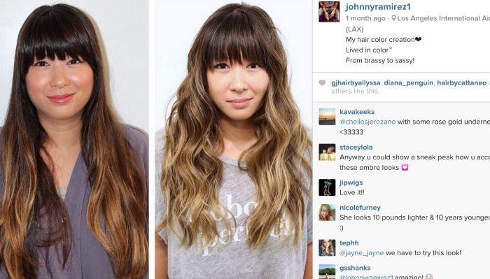 """Here's why everyone is talking about this latest hair trend: """"lived-in color"""""""