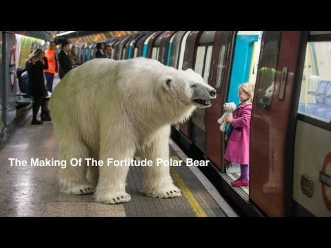 An 8 ft long, fully animated 'adult male polar bear' was unleashed on the freezing streets of London this morning to mark the launch of Sky Atlantic's hotly ...