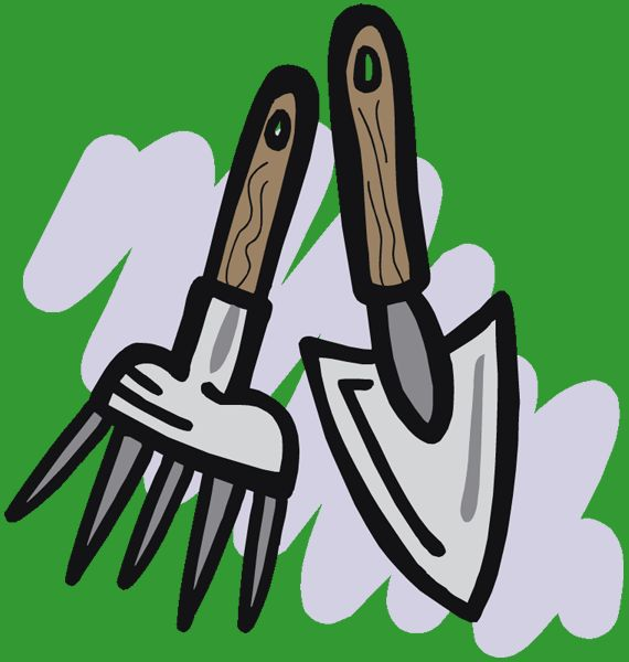 Gardening Tools Logos -- More info could be found at the image url.