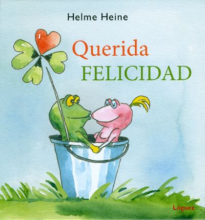Querida FELICIDAD -El protagonista de la historia, Blubb, es una rana que busca incansablemente la felicidad. Y su única misión en la vida será buscarla. Para ello probará varias profesiones, cantante, deportista, meteorólogo hasta la comprará con unas perlas - ED LOGUEZ
