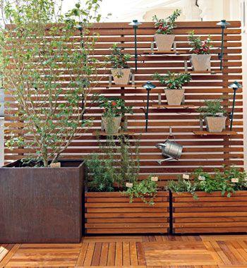 jardineiras de madeira...