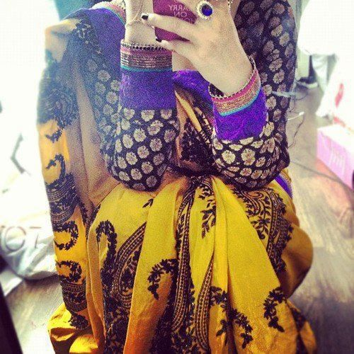 Love the colors. #hijab