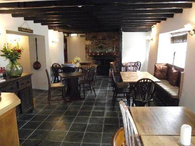 Treby Arms, Sparkwell, Plymouth Owned by the winner of Masterchef 2012 (Anton Piotrowski), and winner of Devon Life Food Award 2013 - fine dining in a rustic atmosphere.  Booking recommended.