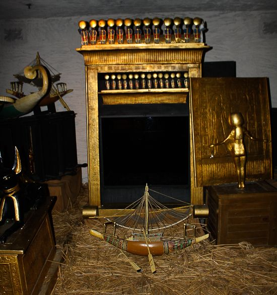 King Tut's Tomb at Busch Gardens Tampa, Tampa, Florida