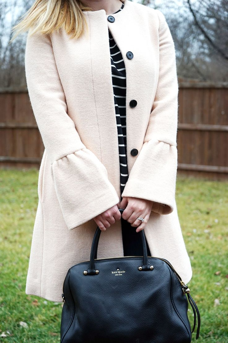 The Top Bell Sleeve Coats - Maggie a la Mode