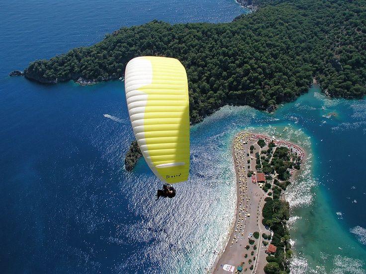 Siklóernyőzés, Ejtőernyő, Sky, Légi, Paraglider