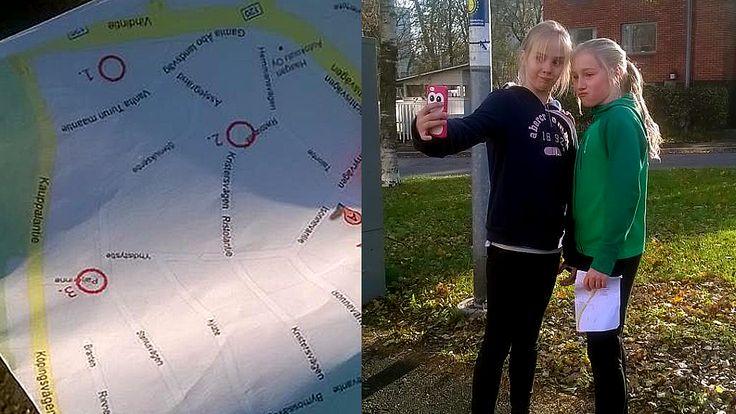Koululaiset innostuivat selfiesuunnistuksesta - Kotimaa - Uutiset - MTV.fi