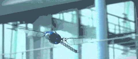 Dragonfly drone beats wings, flies backward like the real thing   The Verge
