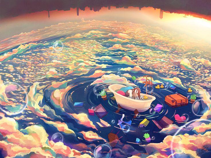 ✎ Artist's name: Caring Wong ✎ Artwork title: Leave Me Alone ✎ Medium: Digital Art  ✎ Size: 1200x900 ✎ Year: 2014