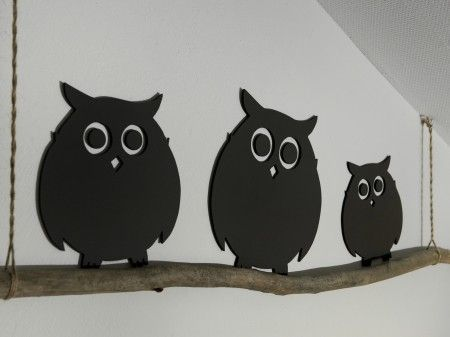 Owls for the children's walls?