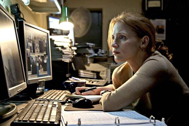"Jessica Chastain in ""Zero Dark Thirty"" (Kathryn Bigelow, 2012)"