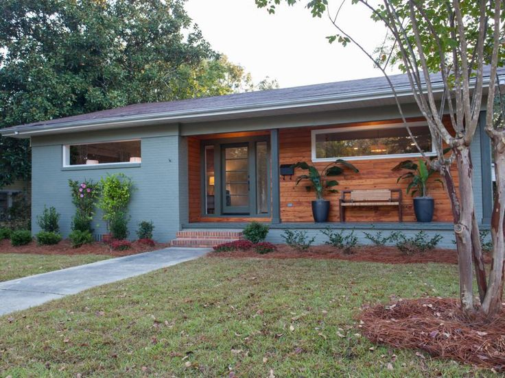 Best 25 Mid Century Exterior Ideas On Pinterest