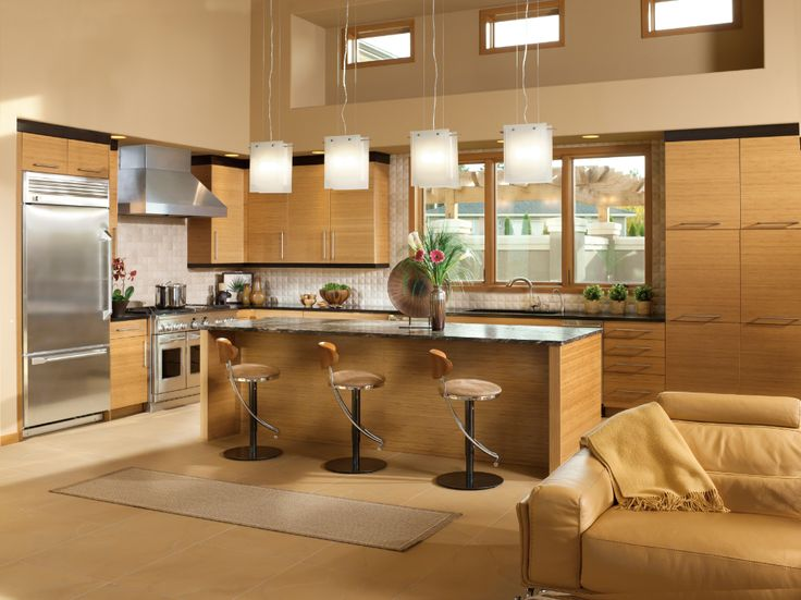 Best Modern Bamboo Kitchen Cabinets Bamboo Kitchen Cabinets 400 x 300