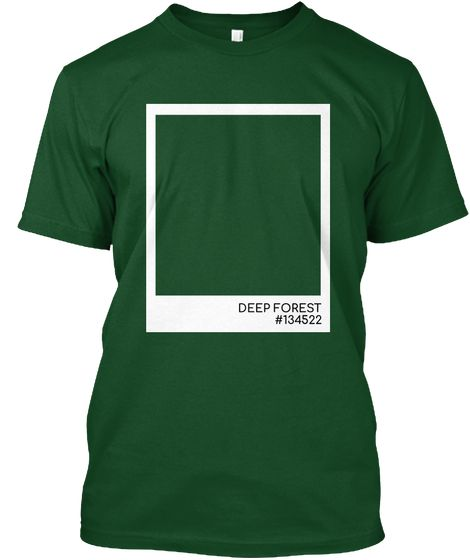 Deep Forest Color Deep Forest Kaos Front