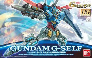 ガンダム G-セルフ(大気圏用パック装備型) (HG) (ガンプラ)