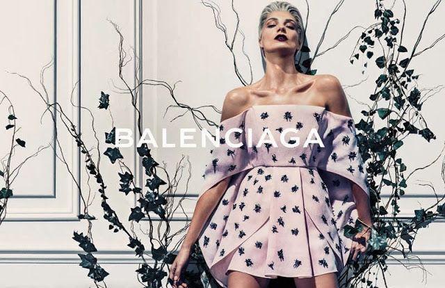 Daria Werbowy for Balenciaga Spring / Summer 2014 Campaign