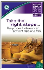 Tips from the National Safety Council on preventing falls in the workplace