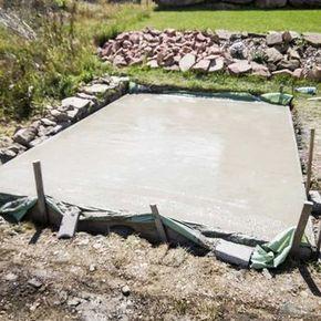 Wie du eine Bodenplatte betonieren kannst für dein Gartenhaus – Eine ultimative Anleitung   – Kristin