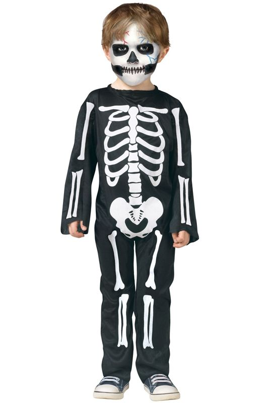 Scary Skeleton Toddler Costume for Halloween - Pure Costumes