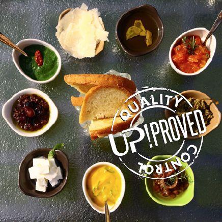 La ricetta di UP! Gioco di bruschette