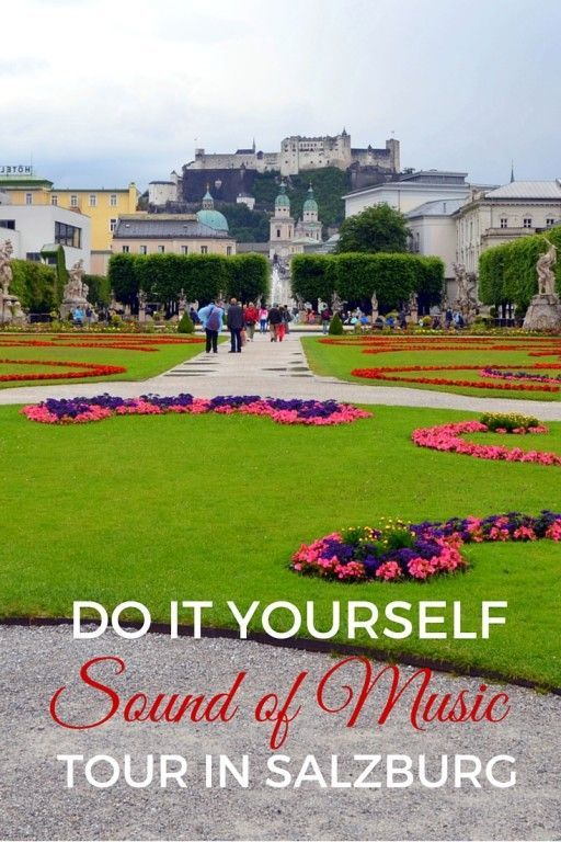 You don't have to do those popular tours. Save some time and money! Do It Yourself DIY Sound of Music Tour in Salzburg with Kids - Austria with kids