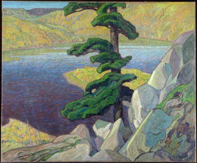 Frank Carmichael, The Upper Ottawa, near Mattawa, 1924 (source).