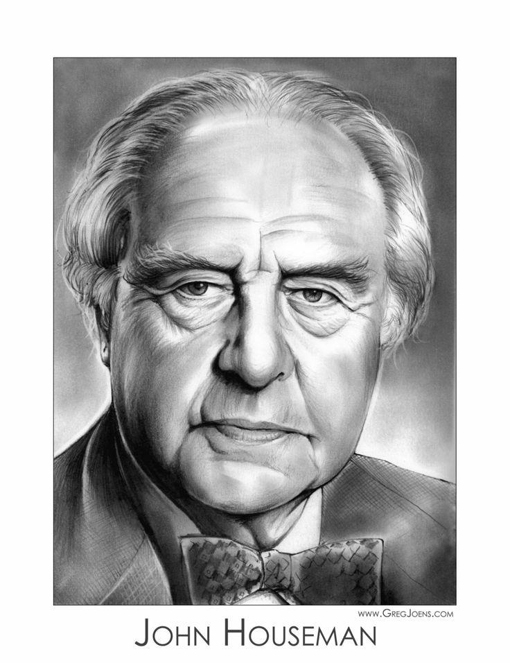John Houseman by gregchapin.deviantart.com on @deviantART