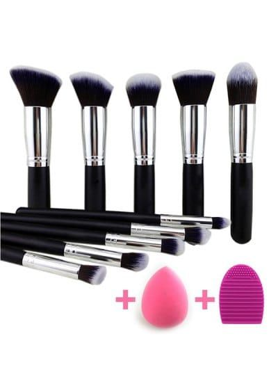 SHARE & Get it FREE | Makeup Brushes Set + Makeup Sponge + Brush Egg - BlackFor Fashion Lovers only:80,000+ Items • New Arrivals Daily Join Zaful: Get YOUR $50 NOW!