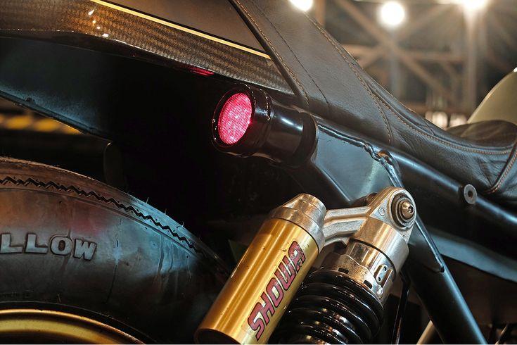 Four Play - Kerkus CB400 Cafe Racer via returnofthecaferacers.com