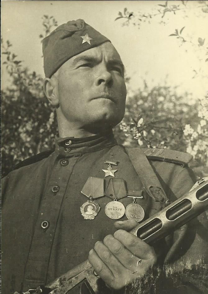 The Hero of the Soviet Union (WWII).