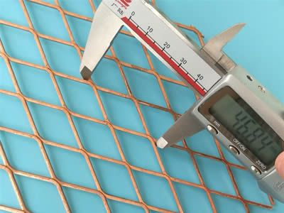 Best Expanded Copper Mesh Used In Construction No Skid Stairs Mesh Copper Stairs 400 x 300