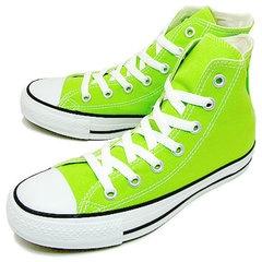 CONVERSE(コンバース)CANVASALLSTARCOLORSHI(キャンバスオールスターカラーズHI)ライムグリーン[靴・スニーカー・シューズ]10P20Feb09