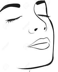 image femme visage dessin ile ilgili görsel sonucu