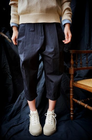 Studio Nicholson ( ENGLAND ) MONTI VOLUME PLEAT PANTS www.lancah.com